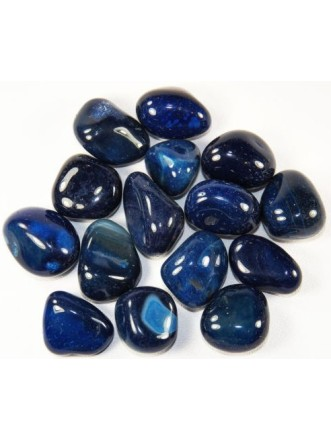 Blue Agate Tumbled Crystal
