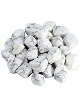 Howlite White Tumbled Crystal