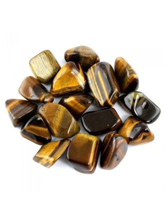 Tigers Eye Tumbled Crystal