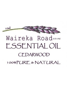 Cedarwood Pure Essential Oil 10ml